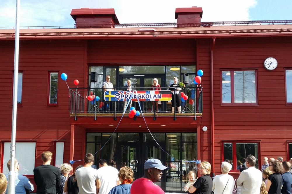 Invigning av Språkskolans nya lokaler!